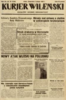 Kurjer Wileński : niezależny dziennik demokratyczny. 1936, nr36
