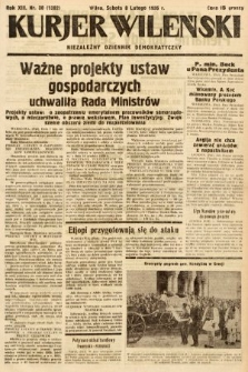 Kurjer Wileński : niezależny dziennik demokratyczny. 1936, nr38