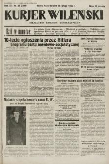 Kurjer Wileński : niezależny dziennik demokratyczny. 1935, nr55