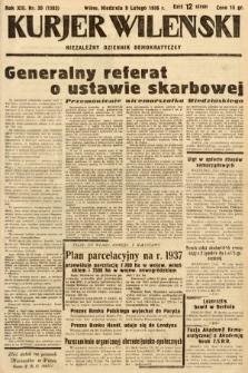 Kurjer Wileński : niezależny dziennik demokratyczny. 1936, nr39