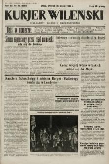 Kurjer Wileński : niezależny dziennik demokratyczny. 1935, nr56
