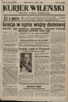 Kurjer Wileński : niezależny dziennik demokratyczny. 1935, nr63