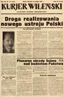 Kurjer Wileński : niezależny dziennik demokratyczny. 1936, nr48