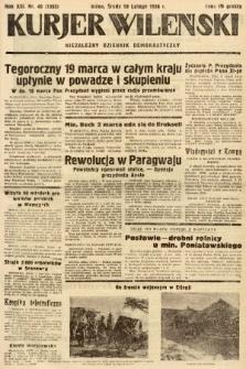 Kurjer Wileński : niezależny dziennik demokratyczny. 1936, nr49