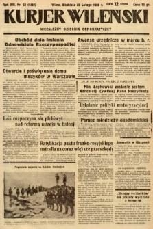 Kurjer Wileński : niezależny dziennik demokratyczny. 1936, nr53