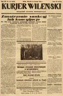 Kurjer Wileński : niezależny dziennik demokratyczny. 1936, nr 55