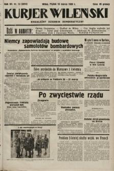 Kurjer Wileński : niezależny dziennik demokratyczny. 1935, nr73