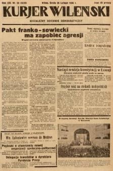 Kurjer Wileński : niezależny dziennik demokratyczny. 1936, nr56