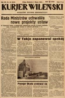Kurjer Wileński : niezależny dziennik demokratyczny. 1936, nr60