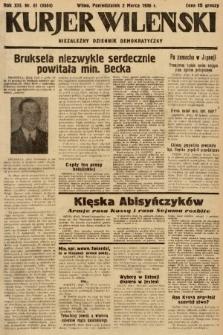 Kurjer Wileński : niezależny dziennik demokratyczny. 1936, nr61