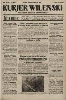 Kurjer Wileński : niezależny dziennik demokratyczny. 1935, nr81