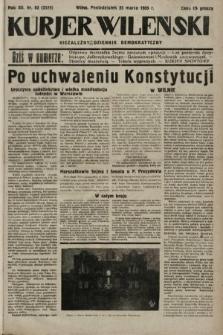 Kurjer Wileński : niezależny dziennik demokratyczny. 1935, nr83