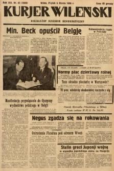 Kurjer Wileński : niezależny dziennik demokratyczny. 1936, nr65
