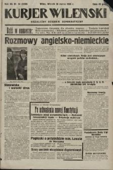 Kurjer Wileński : niezależny dziennik demokratyczny. 1935, nr84