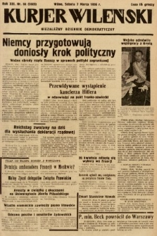 Kurjer Wileński : niezależny dziennik demokratyczny. 1936, nr66