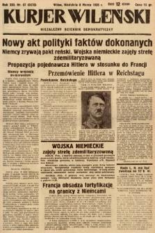 Kurjer Wileński : niezależny dziennik demokratyczny. 1936, nr67