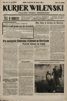 Kurjer Wileński : niezależny dziennik demokratyczny. 1935, nr86