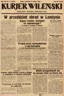 Kurjer Wileński : niezależny dziennik demokratyczny. 1936, nr71