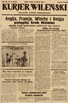 Kurjer Wileński : niezależny dziennik demokratyczny. 1936, nr72