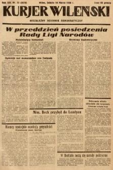 Kurjer Wileński : niezależny dziennik demokratyczny. 1936, nr73