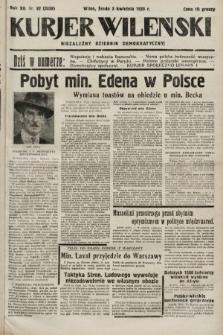 Kurjer Wileński : niezależny dziennik demokratyczny. 1935, nr92