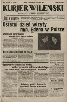 Kurjer Wileński : niezależny dziennik demokratyczny. 1935, nr93
