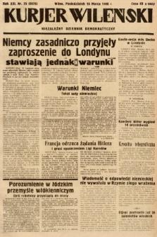 Kurjer Wileński : niezależny dziennik demokratyczny. 1936, nr75