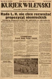 Kurjer Wileński : niezależny dziennik demokratyczny. 1936, nr76
