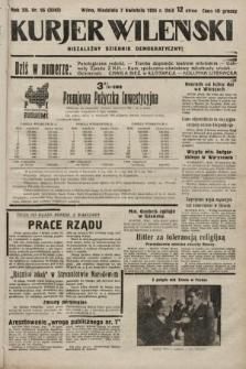 Kurjer Wileński : niezależny dziennik demokratyczny. 1935, nr96
