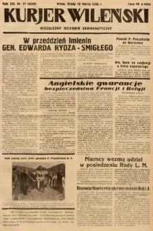 Kurjer Wileński : niezależny dziennik demokratyczny. 1936, nr77