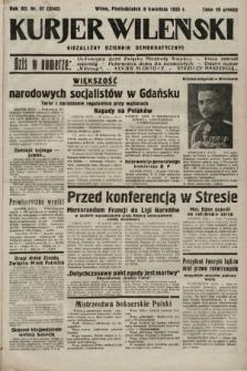 Kurjer Wileński : niezależny dziennik demokratyczny. 1935, nr97