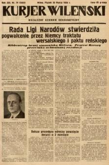 Kurjer Wileński : niezależny dziennik demokratyczny. 1936, nr79
