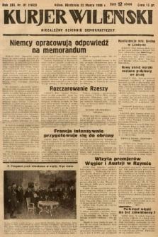Kurjer Wileński : niezależny dziennik demokratyczny. 1936, nr81
