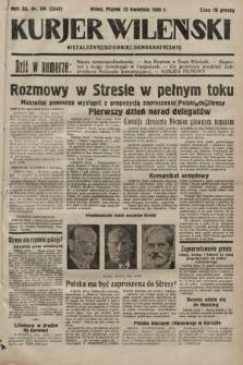 Kurjer Wileński : niezależny dziennik demokratyczny. 1935, nr101
