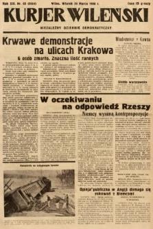 Kurjer Wileński : niezależny dziennik demokratyczny. 1936, nr83