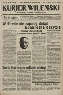 Kurjer Wileński : niezależny dziennik demokratyczny. 1935, nr103