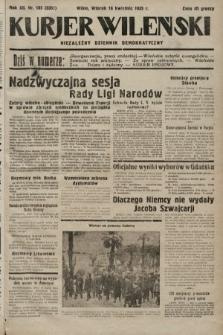 Kurjer Wileński : niezależny dziennik demokratyczny. 1935, nr105