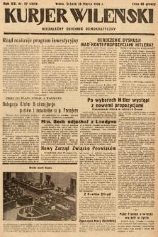 Kurjer Wileński : niezależny dziennik demokratyczny. 1936, nr87