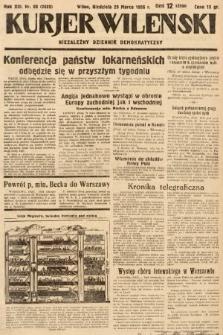 Kurjer Wileński : niezależny dziennik demokratyczny. 1936, nr88