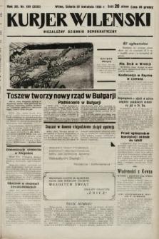Kurjer Wileński : niezależny dziennik demokratyczny. 1935, nr109