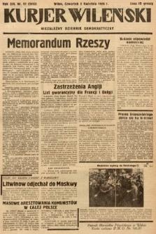 Kurjer Wileński : niezależny dziennik demokratyczny. 1936, nr92