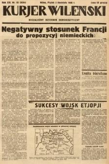 Kurjer Wileński : niezależny dziennik demokratyczny. 1936, nr93