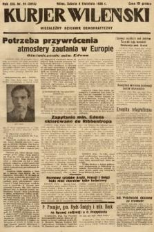 Kurjer Wileński : niezależny dziennik demokratyczny. 1936, nr94