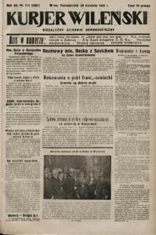 Kurjer Wileński : niezależny dziennik demokratyczny. 1935, nr115