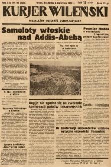 Kurjer Wileński : niezależny dziennik demokratyczny. 1936, nr95