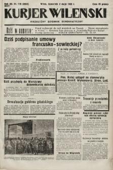 Kurjer Wileński : niezależny dziennik demokratyczny. 1935, nr118