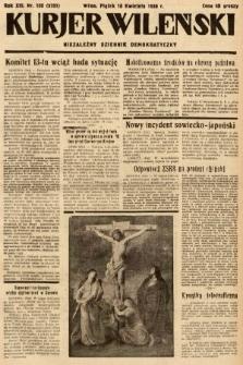 Kurjer Wileński : niezależny dziennik demokratyczny. 1936, nr100