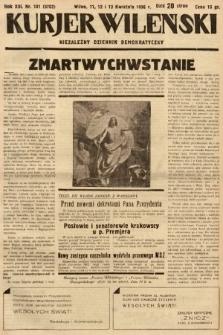 Kurjer Wileński : niezależny dziennik demokratyczny. 1936, nr101
