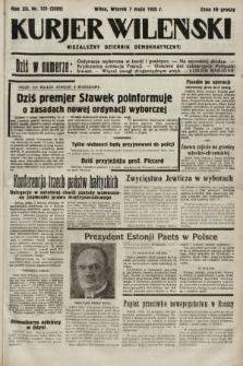 Kurjer Wileński : niezależny dziennik demokratyczny. 1935, nr123