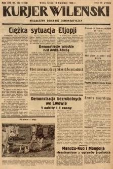 Kurjer Wileński : niezależny dziennik demokratyczny. 1936, nr103